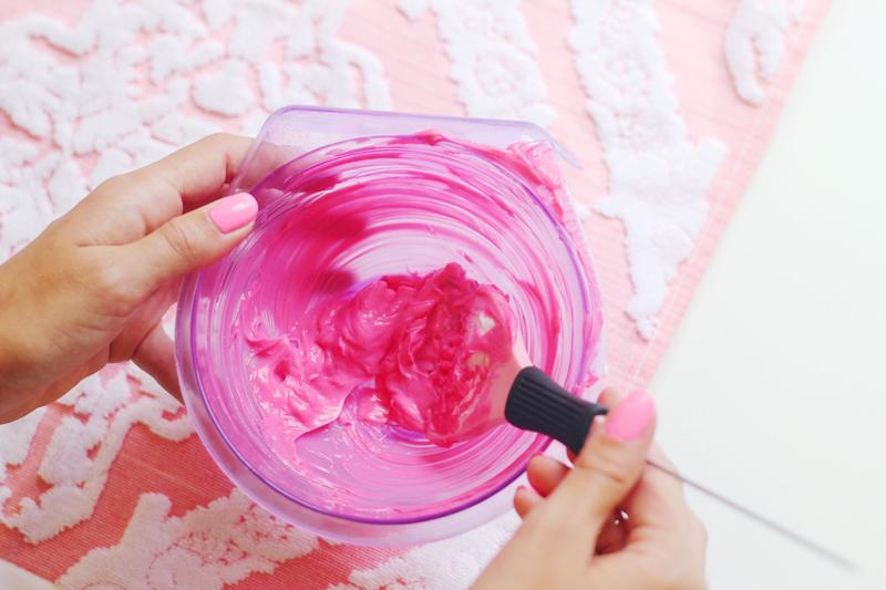 Simple Diy Pink Hair