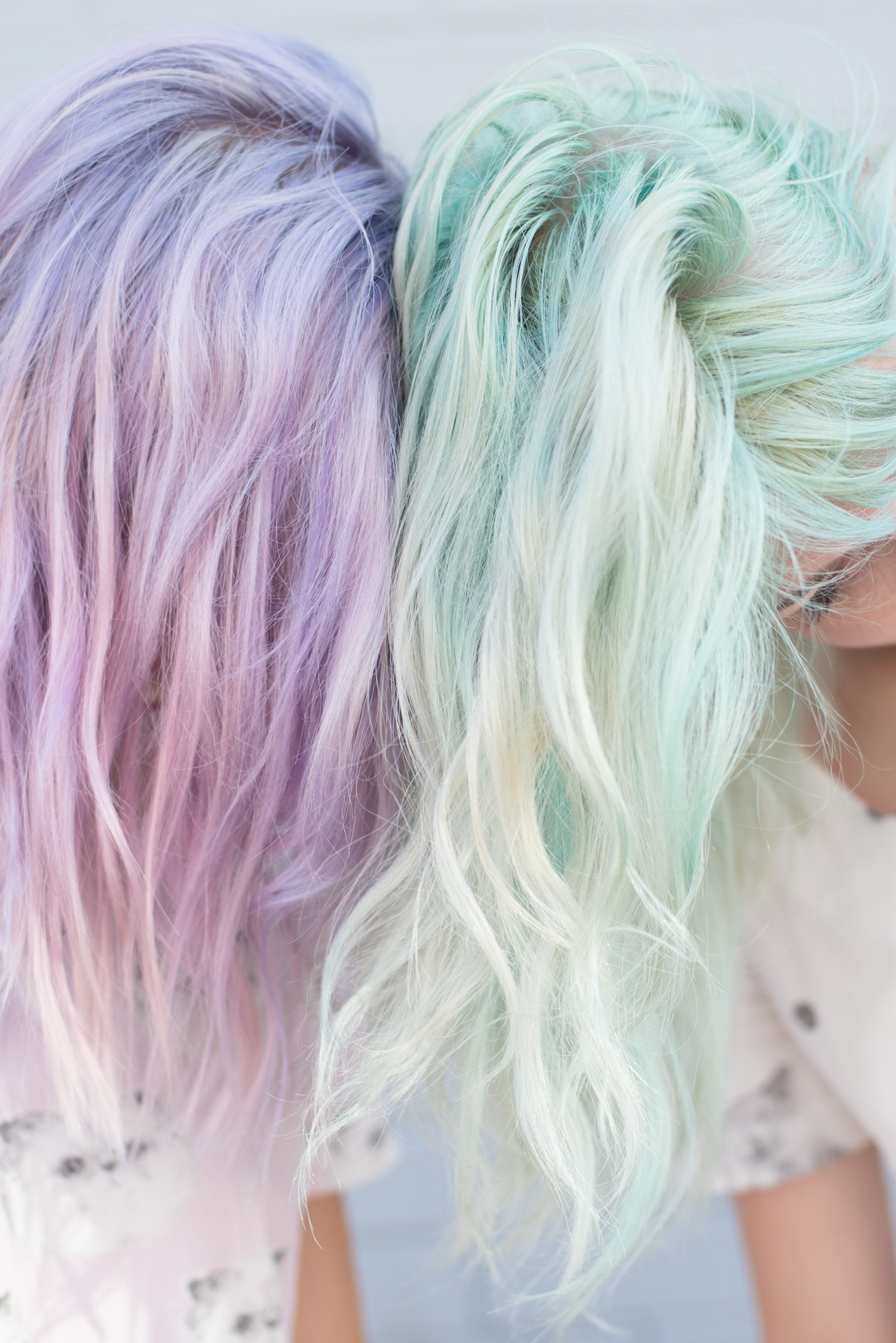Pastel Lavender And Mint On Pinterest